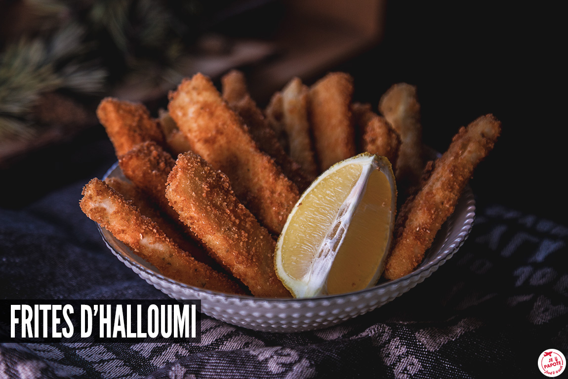 Frites d'halloumi (fromage chypriote)